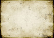 Grungy vintage paper Stock Images