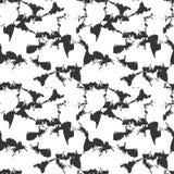 Grungy vlekken op wit stock illustratie