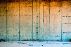 Grungy wall. Fragment of grungy concrete wall Stock Photos