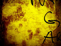 Grungy wall. Close up Stock Images