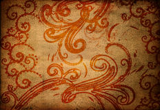 Grungy wallpaper Royalty Free Stock Image
