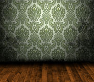 Grungy wallpaper. Grungy antique wallpaper background texture Stock Images