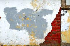 Grungy Wand Stockbild