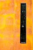 Grungy Wand Sandsteinhintergrund Stockbilder