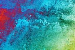 Grungy Wandbeschaffenheit des Stucks. Stockfoto
