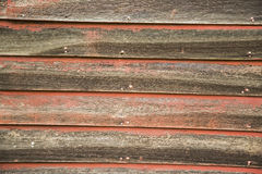 Grungy warped wood closeup Stock Images