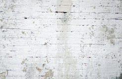 Grungy weißer Backsteinmauer-Hintergrund lizenzfreies stockbild