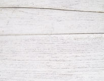 Grungy white background of natural wood Stock Images