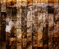 Grungy White Cement Wall Background. Closeup of grunge vertical stone wall  background. Photographed June 28th 2014 Royalty Free Stock Photo