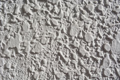 Grungy white concrete wall. Background Stock Image