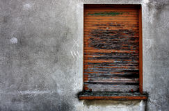 Grungy window Royalty Free Stock Photo
