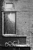 Grungy window Stock Images