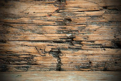 Grungy Wood Background. Or Texture, Old Plank Royalty Free Stock Photography
