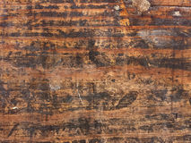 Grungy wood background. Weathered wood background with stains Royalty Free Stock Photos