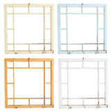 Grungy Wood Frames Stock Images