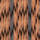 Grungy wood plankagolv Arkivbilder