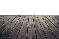 Grungy wooden plank floor Stock Photos