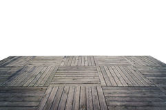 Grungy wooden plank floor Royalty Free Stock Photography