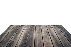 Grungy wooden plank floor Royalty Free Stock Image