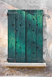 Grungy wooden window Royalty Free Stock Photography
