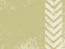A grungy and worn hazard stripes texture stock illustration