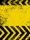 A grungy and worn hazard stripes texture. EPS 8 Royalty Free Stock Images