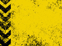 A grungy and worn hazard stripes texture. EPS 8 royalty free illustration