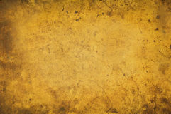 Grungy yellow background texture Stock Image