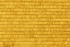 Grungy yellow brick wall surface. Royalty Free Stock Image