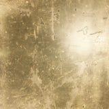 Grungy złoto tonująca przemysłowa zakłopotana asfaltowa tekstura Zdjęcie Royalty Free