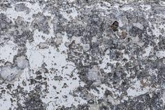 Grungy Zementoberfläche mit der Schale weißen Farbenhintergrund textur Lizenzfreies Stockfoto