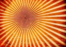 Grungy zonstralen vector illustratie