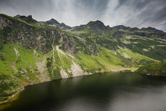 Grunsee - lake in National park in Austrian Alps Stock Photo