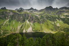 Grunsee - lake in National park in Austrian Alps Royalty Free Stock Photo