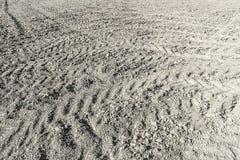 Gruntowego terenu ziemi dostosowanie i nowy glebowy teren dla budować Fotografia Stock