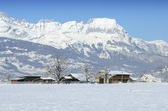 gruntowy blanc mont Obrazy Stock