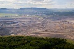 Gruntowy coalmining Obraz Royalty Free