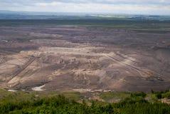 Gruntowy coalmining Fotografia Royalty Free