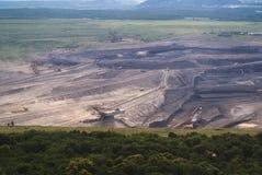 Gruntowy coalmining Obrazy Royalty Free
