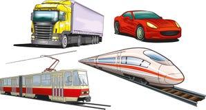 Gruntowy transport Obrazy Stock