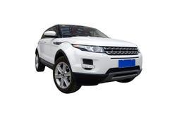 Biały samochód Zdjęcie Stock