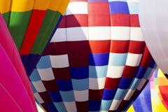 Gruntujący gorące powietrze balony Zdjęcia Stock