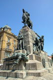 Grunwald Monument Krakow, Poland Royalty Free Stock Image