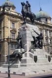 Grunwald Monument in Krakow, Poland Stock Photo