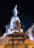 Grunwald monument at night Stock Photos