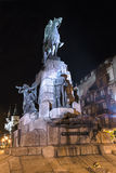 Grunwald monument at night Stock Photography