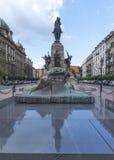 Grunwald monument. Plac Matejki, Krakow, Poland Stock Photography
