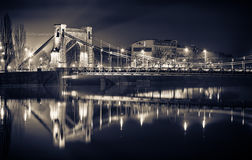 Grunwaldzki Bridge in Wroclaw Stock Images