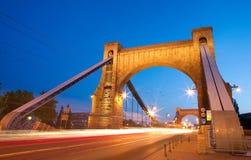 Grunwaldzki Bridge in Wroclaw Royalty Free Stock Photography