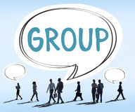 Gruop Union Team Organization Partnership Concept Royalty Free Stock Photography